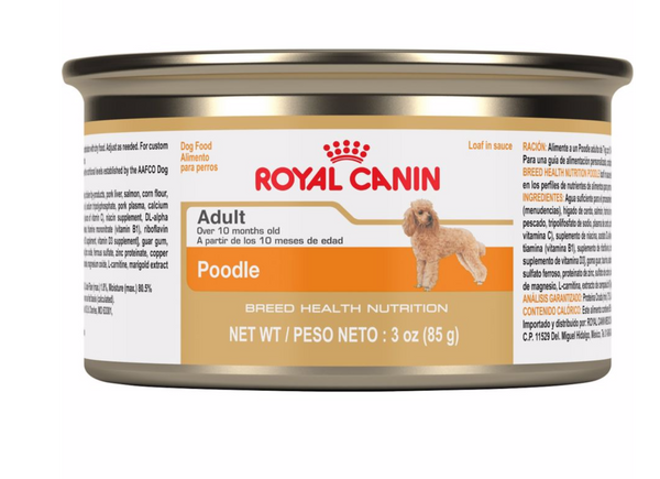 Royal Canin Breed Specific Canned Dog Food; Available in 4 styles-Food Center-Royal Canin-Poodle-Petland Canada