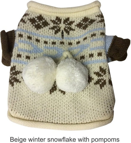 Great Jack's Dog Beige sweater; available in various sizes