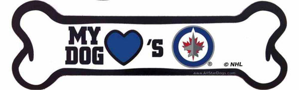Winnipeg Jets Magnet, Bone