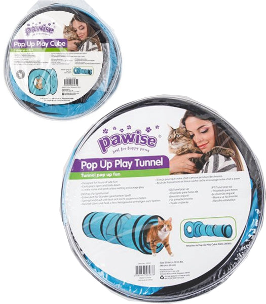 Pawise Pop Up Fun; available in Tunnel or Cube-Toys-Pawise-Petland Canada