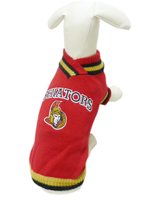 NHL Sweater Ottawa Senators - available in 8 sizes-Clothes & Boots-Karsuh-Petland Canada