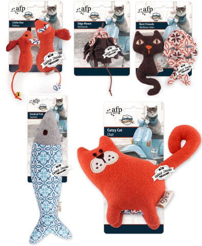 AFP Vintage Themed Cat Toys-Toys-All For Paws-Petland Canada