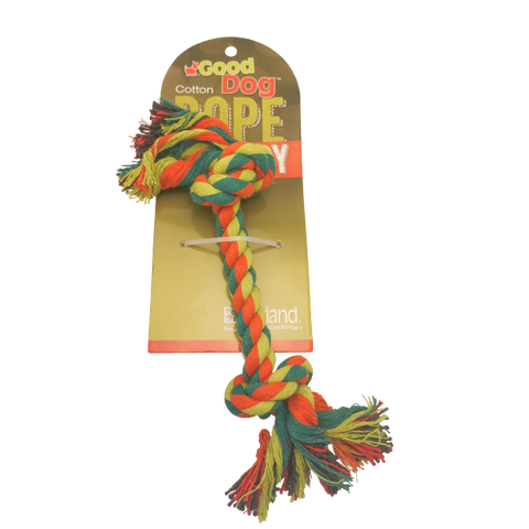 Good Dog Multicolour Rope Bone-Toys-Good Dog-Petland Canada