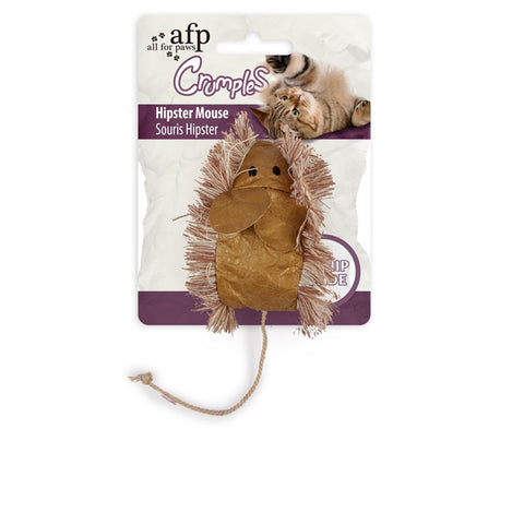 AFP Crumples Cat Toys-Toys-All For Paws-Hipster Mouse-Petland Canada