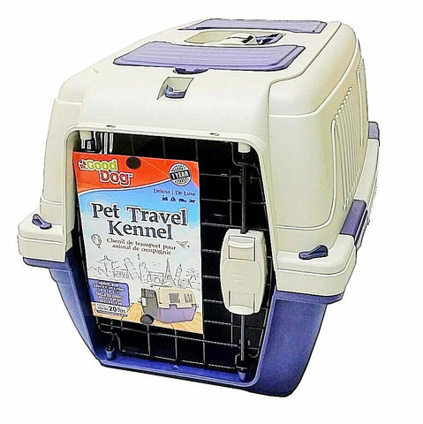 Good Dog Deluxe Pet Carrier; available in different sizes-Crates & Kennels-Good Dog-63 cm x 41 cm x 40 cm without top door-Petland Canada