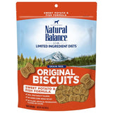 Natural Balance L.I.D. Sweet Potato & Fish Dog Treats; Available in 2 Sizes