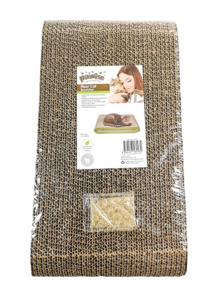 Pawise Cardboard Cat Scratchers; Available in Different Styles-Furniture & Scratchers-Pawise-Floor Scratcher-Petland Canada