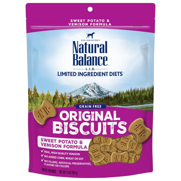 Natural Balance L.I.D. Sweet Potato & Venison Dog Treats