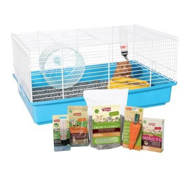 Living World Hamster Starter Kit-Habitats & Cages-Living World-Default-Petland Canada
