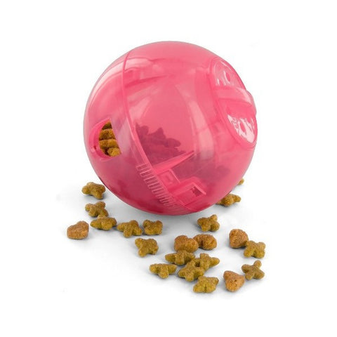 Pink PetSafe SlimCat Interactive Feeder Toy