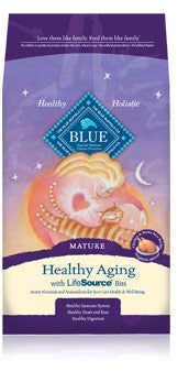 Blue Buffalo Mature Cat Healthy Aging Food 7lbs