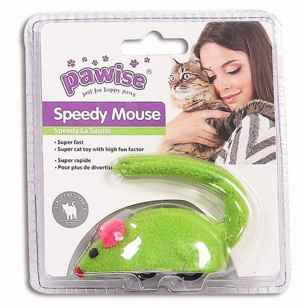 Pawise Speedy Mouse Cat Toy-Toys-Pawise-Petland Canada