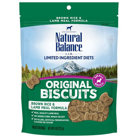 Natural Balance L.I.D. Lamb & Rice Small Breed Dog Treats (8 oz.)