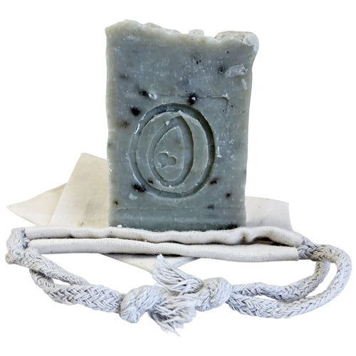 Natural Handmade Soap - Lavender with Lavender Botanicals and Kaolin Clay