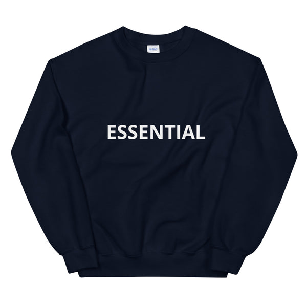Unisex Classic Sweatshirt, Double-Blend Preshrunk 50% Cotton and 50%Polyester, Sizes S to 5XL