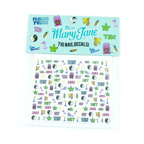 "Miss Mary Jane Co ""710"" Nail Decals! - Miss Mary Jane Co."