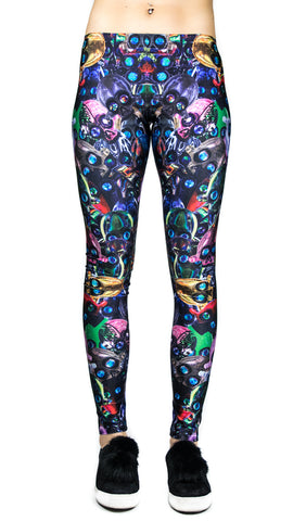"AKM ""Skulladex"" Leggings! - Miss Mary Jane Co."