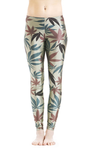 Camo Weed Print Leggings! - Miss Mary Jane Co.