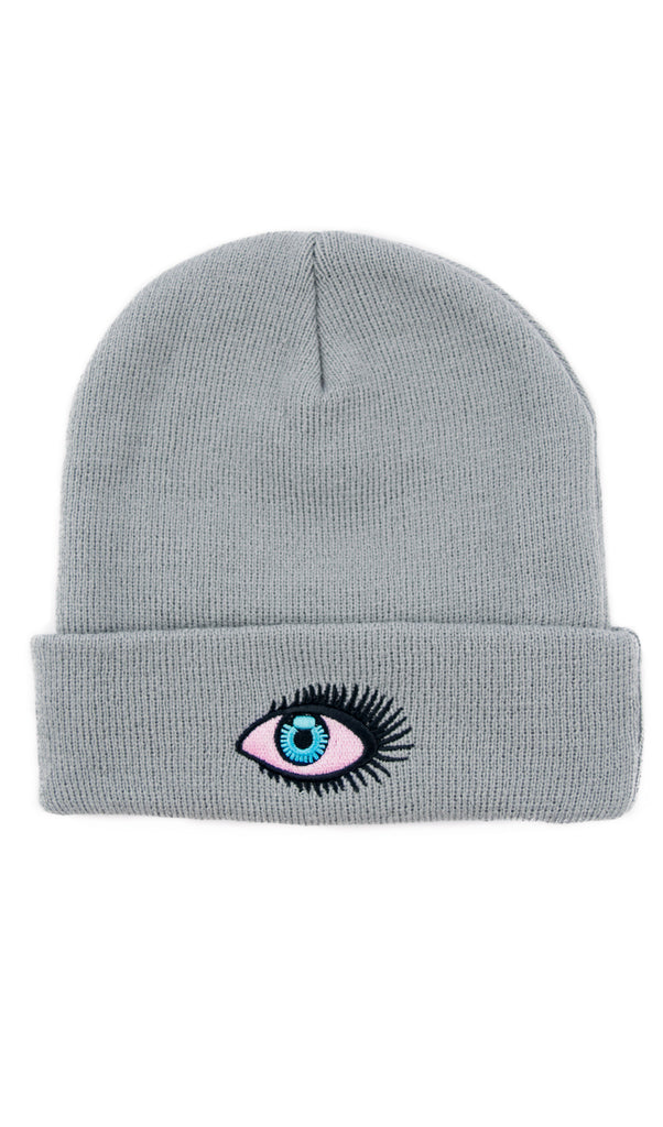 Blue High Eye Beanie! - Miss Mary Jane Co.