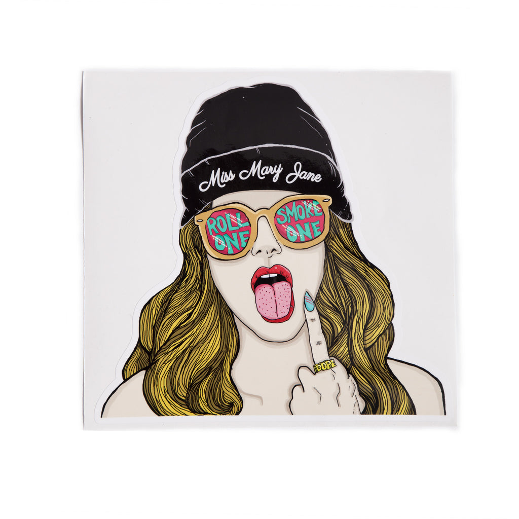 "Giant ""Bad Bitch"" Sticker! - Miss Mary Jane Co."