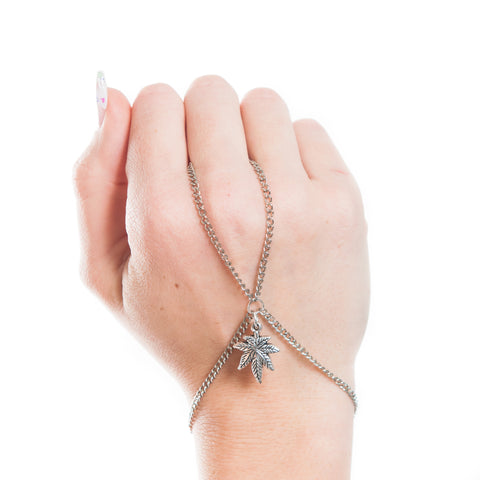 Cannabis Couture Hand Chain! - Miss Mary Jane Co.