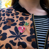 Pot Leaf Pin! - Miss Mary Jane Co.