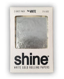 White Gold Shine Papers- 2 pack! - Miss Mary Jane Co.