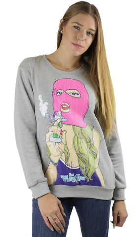 Torch Gerrl Crew Neck! - Miss Mary Jane Co.
