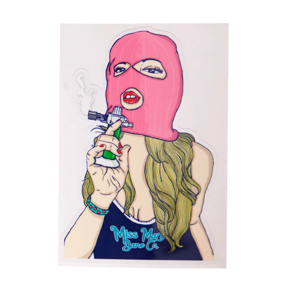 Torch Gerrl Sticker! - Miss Mary Jane Co.