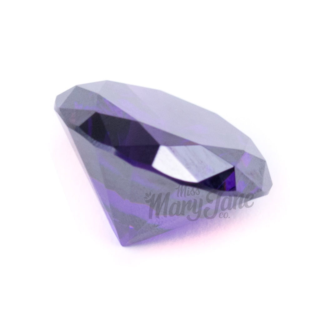 Cubic Cap- Amethyst! - Miss Mary Jane Co.