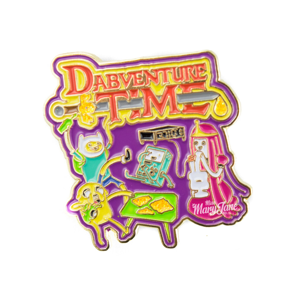 Dabventure Time Pin! - Miss Mary Jane Co.