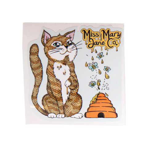 Errl Kitty Sticker! - Miss Mary Jane Co.