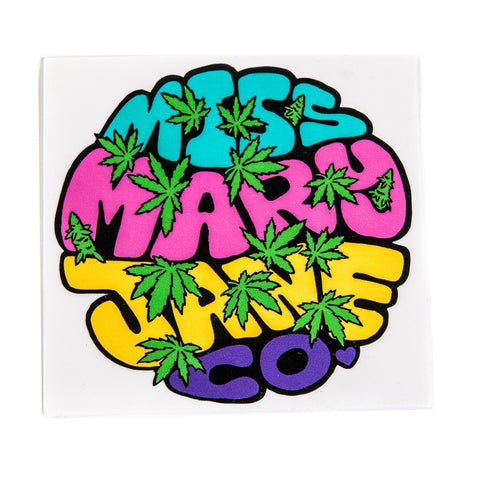 Miss Mary Jane Co. New Age Hippie Logo Sticker! - Miss Mary Jane Co.