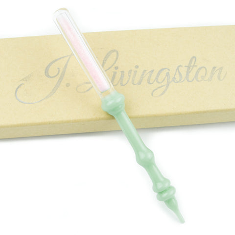 Pink Frit Encapsulation Dabber! - Miss Mary Jane Co.