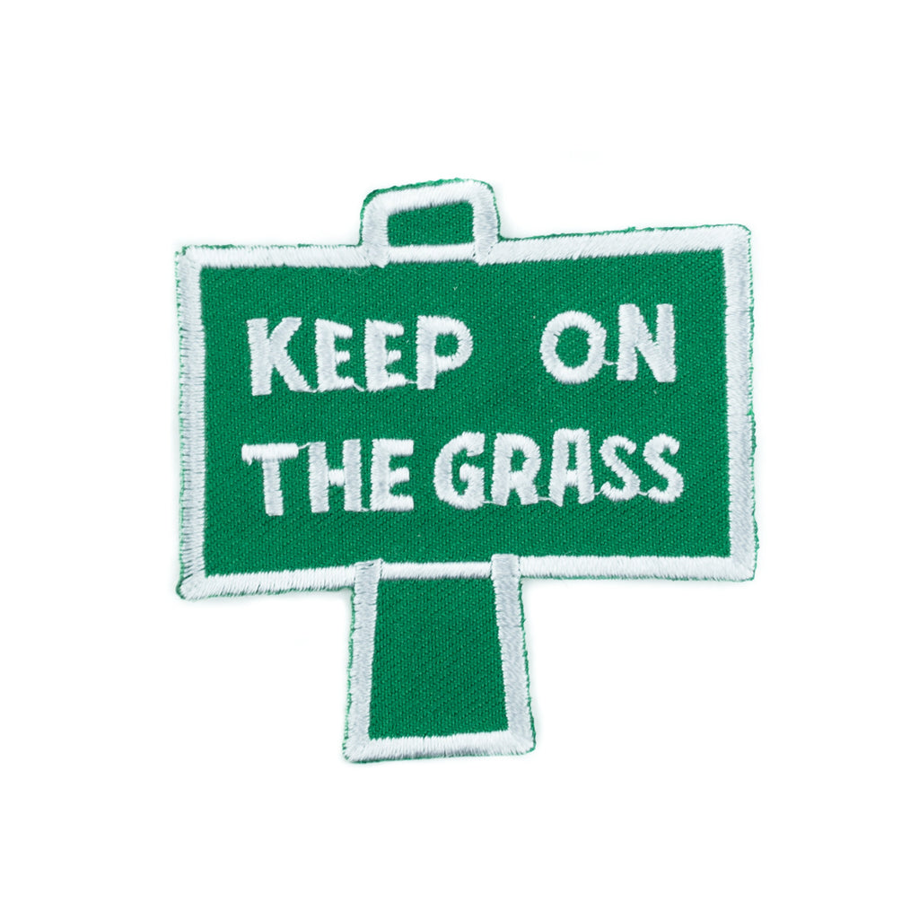 Keep On The Grass Patch! - Miss Mary Jane Co.