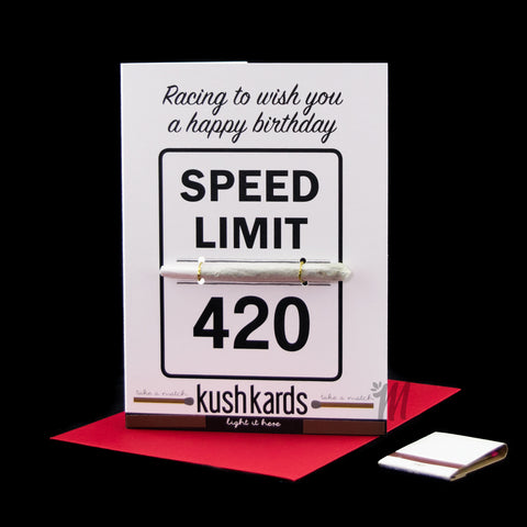 420 Birthday Card!