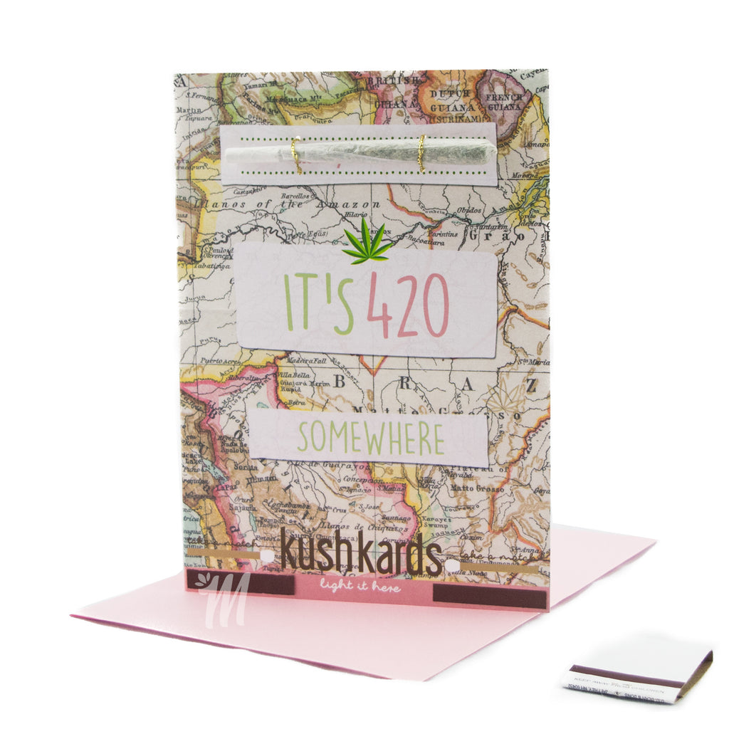It's 420 Somewhere Card! - Miss Mary Jane Co.