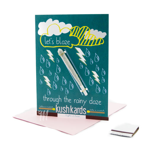 Let's Blaze Through The Rainy Daze Card!