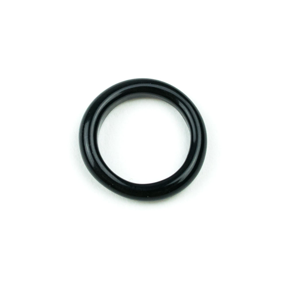 Marni Glass Ring- Black Onyx! - Miss Mary Jane Co.