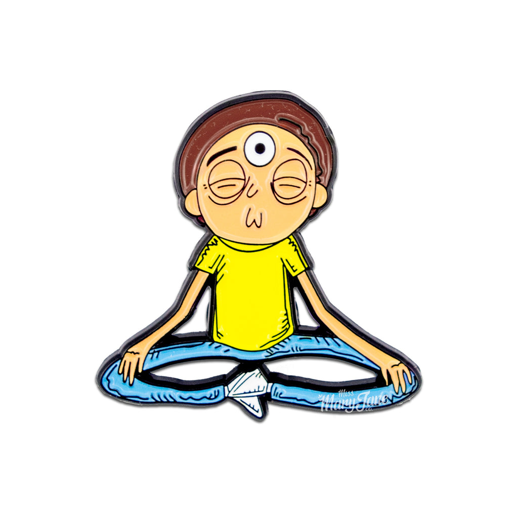 Meditative Morty Pin! - Miss Mary Jane Co.