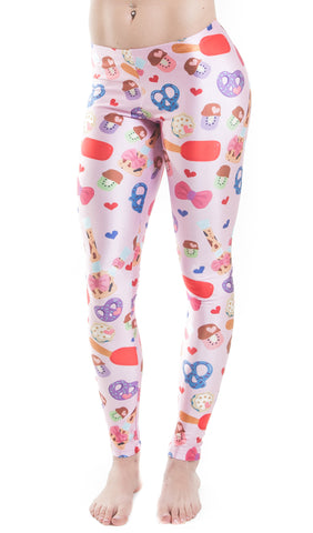 "Sakibomb ""My Sakibomb"" Leggings! - Miss Mary Jane Co."