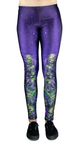 Night Canna Leggings! - Miss Mary Jane Co.