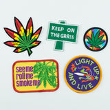 Rainbow Burst Pot Leaf Patch! - Miss Mary Jane Co.