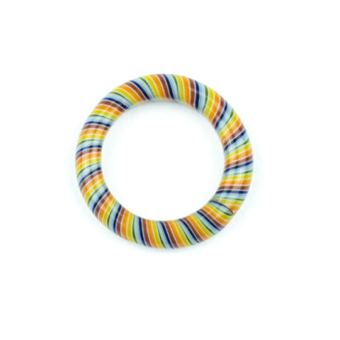 Marni x Harold Cooney Glass Ring- Rainbow! - Miss Mary Jane Co.