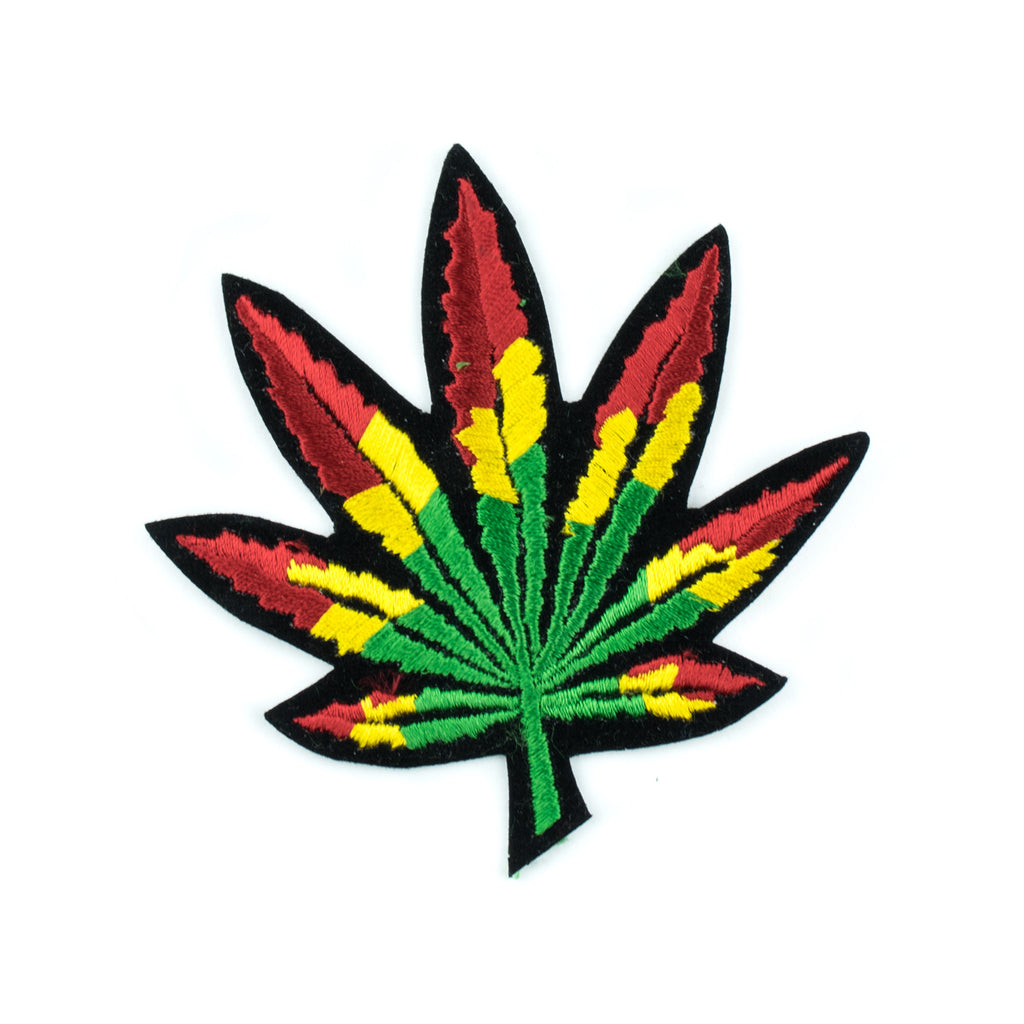 Rasta Weed Leaf Patch! - Miss Mary Jane Co.