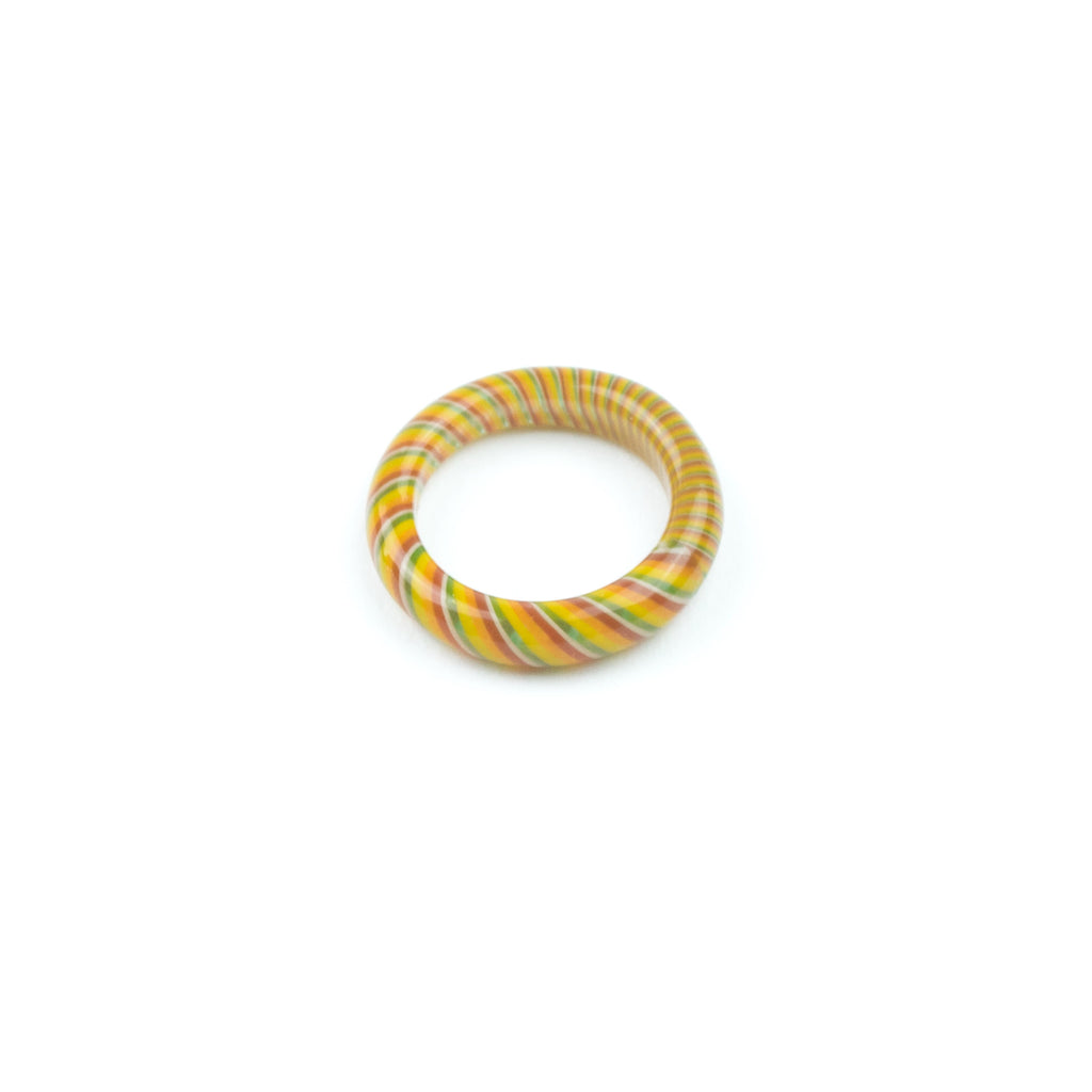 Marni x Harold Cooney Glass Ring- Rasta! - Miss Mary Jane Co.