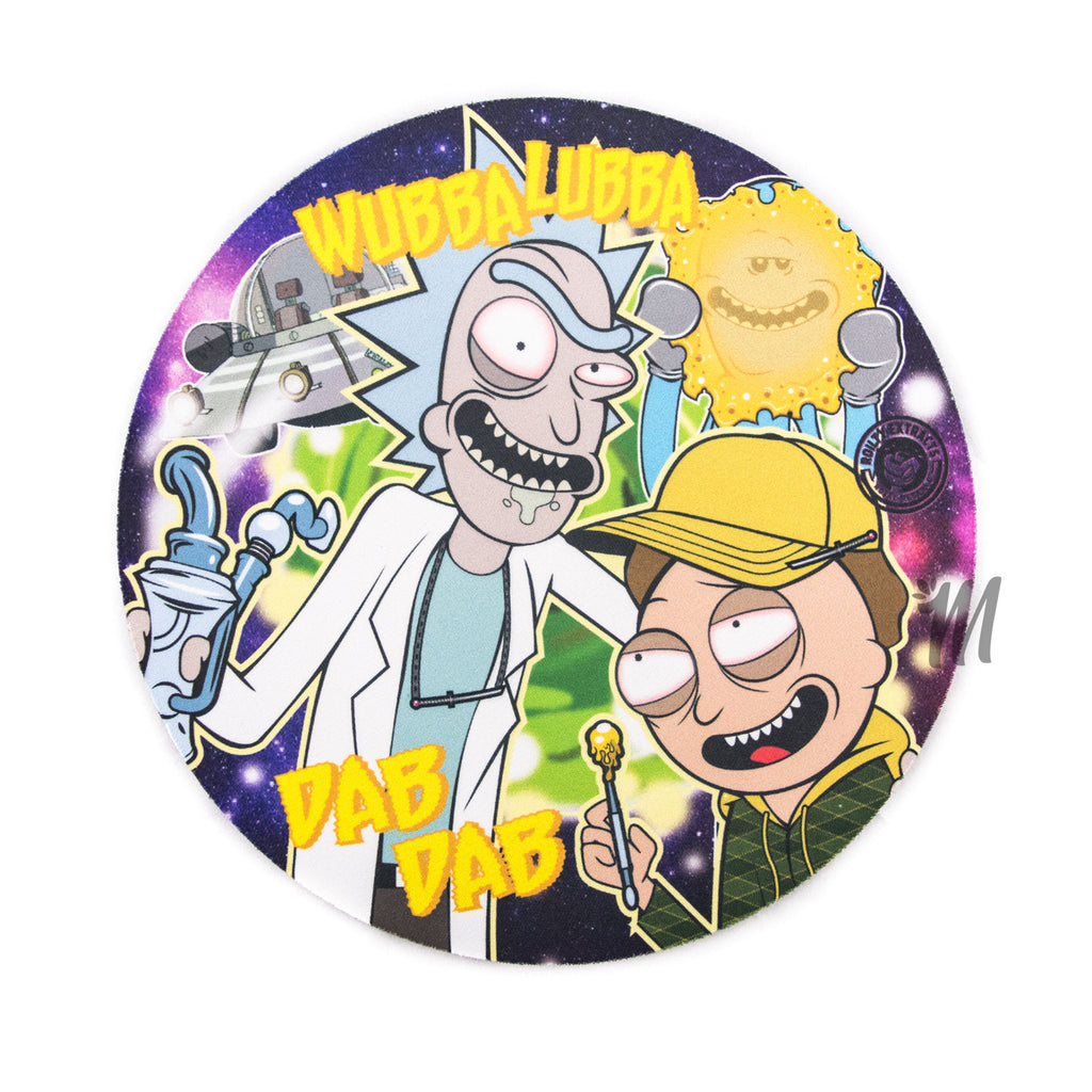 Rick and Morty Dab Mat- Round! - Miss Mary Jane Co.