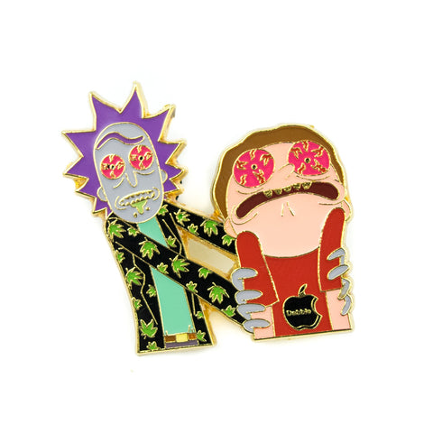 Rick & Morty Fried Pin! - Miss Mary Jane Co.