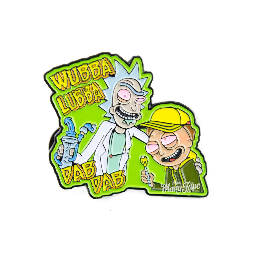 Rick & Morty Space Dabs Pin! - Miss Mary Jane Co.