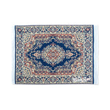 Persian Rug Glass Mat- Blue & Beige! - Miss Mary Jane Co.